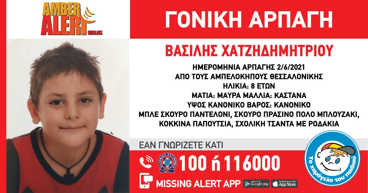 Θεσσαλονίκη: Συναγερμός για την αρπαγή 8χρονου αγοριού από τη μητέρα του